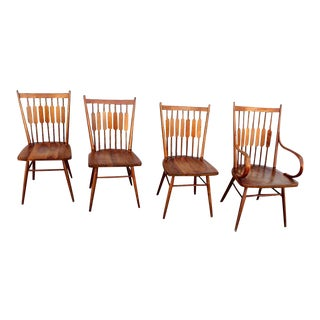Kipp Stewart for Drexel Dining Chairs - Set of 4