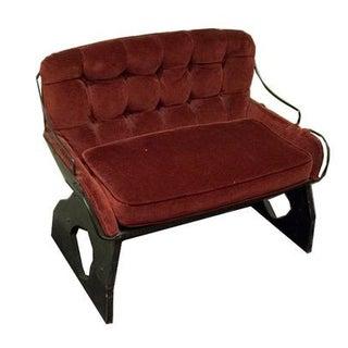 Antique Sleigh Bench