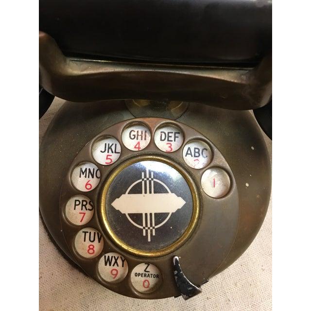 Image of Vintage 1930's Deco Telephone
