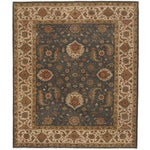 """Image of Hand-Knotted Indo-Persian Rug- 8'1""""x 9'5"""""""