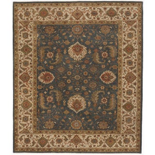 "Hand-Knotted Indo-Persian Rug- 8'1""x 9'5"""