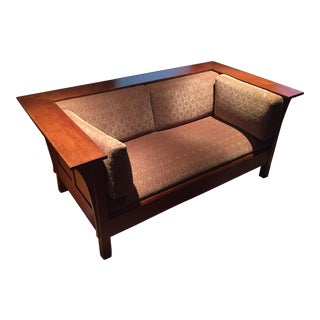 Mission Oak Style Stickley Sofas
