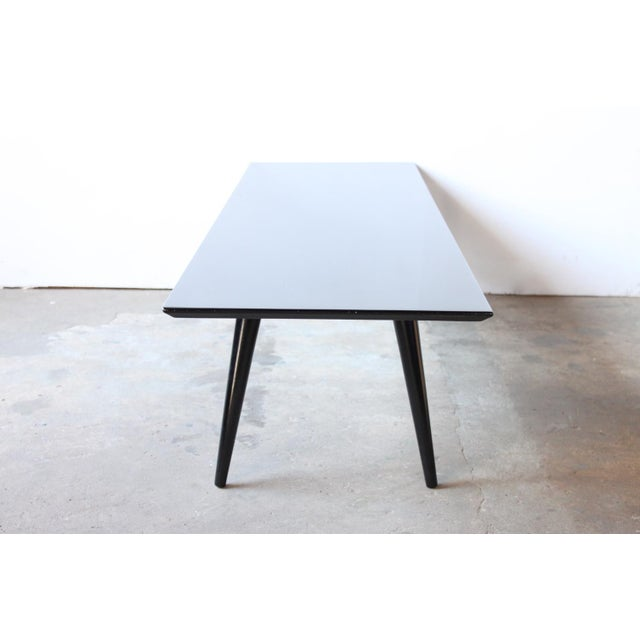 Image of Paul McCobb Black Lacquer Coffee Table