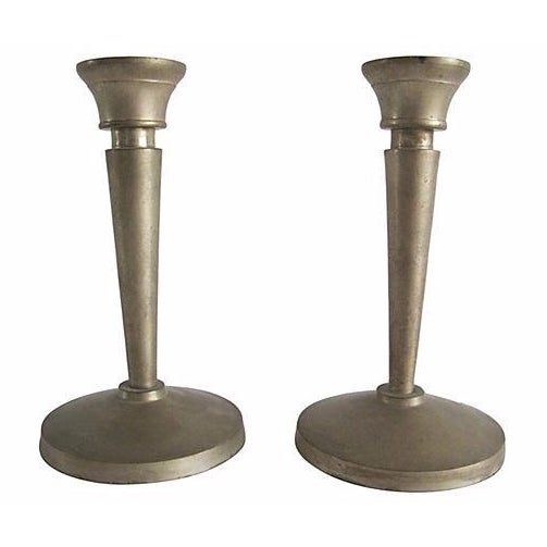 Image of Neoclassical Candlesticks- A Pair