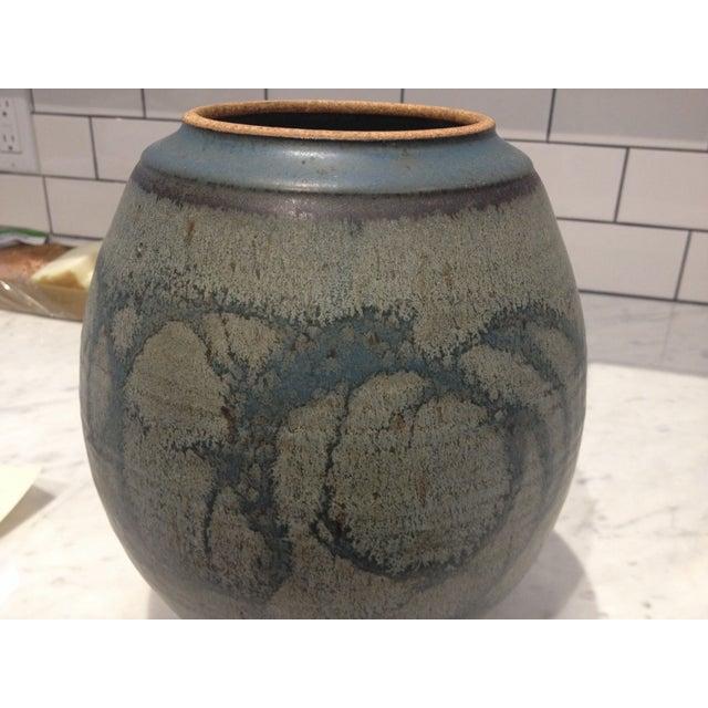 Mid-Century Studio Pottery Lidded Jar - Image 3 of 5