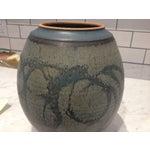 Image of Mid-Century Studio Pottery Lidded Jar