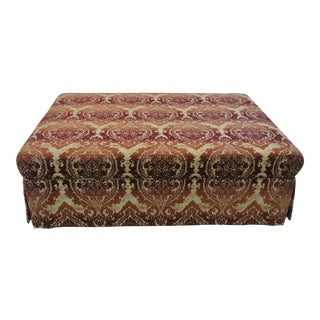 Tailored Large Upholstered Ottoman