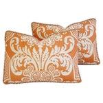 Image of Custom Vervain Trocadero Linen Pillows - Pair