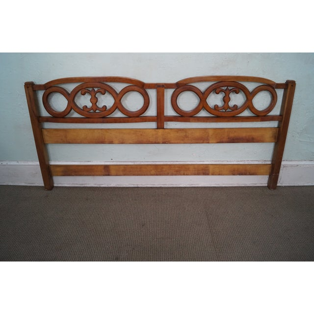 Widdicomb French Style King Size Headboard - Image 8 of 10