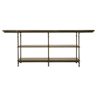 Zinc & Bronze Handmade Kitchen Island