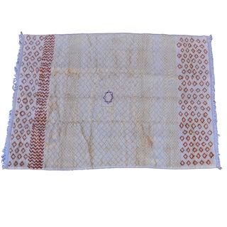 """Vintage Moroccan Saffron Area Rug - 9' x 6'2"""""""