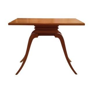 "Paul Frankl for Brown Saltman ""Bell"" Side Table"