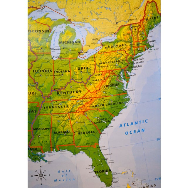 Hanging Classroom Map of USA - Image 8 of 8