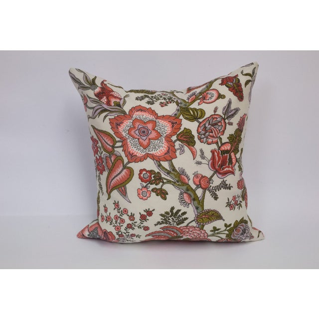Toile & Vintage Floral Pillows - A Pai - Image 7 of 8