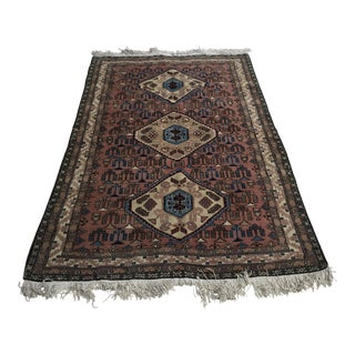 "Persian Ardebil Handmade Rug 4' 5""x6'7"""