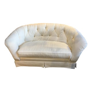 Ethan Allen Tufted Love Seat