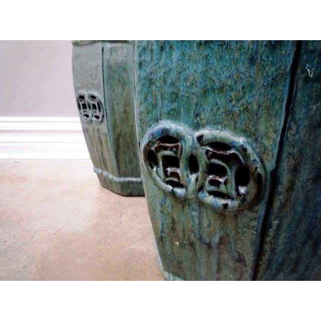 Glazed Garden Stool - Image 3 of 6