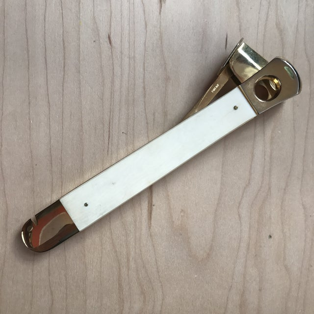 Vintage Brass Cigar Cutter - Image 2 of 8
