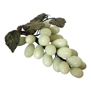 Vintage Alabaster Marble Bunch of Grapes