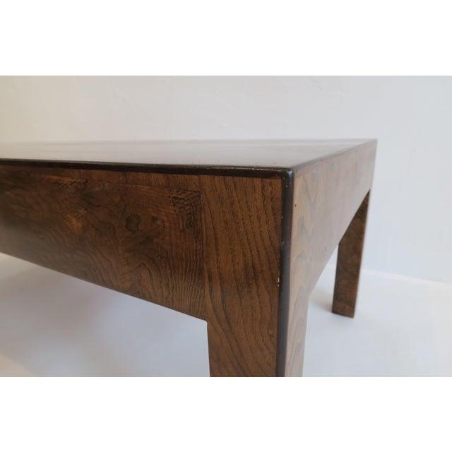 Image of Vintage Burlwood Coffee Table
