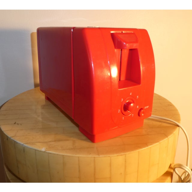 Mid-Century Red Toaster - Image 3 of 3