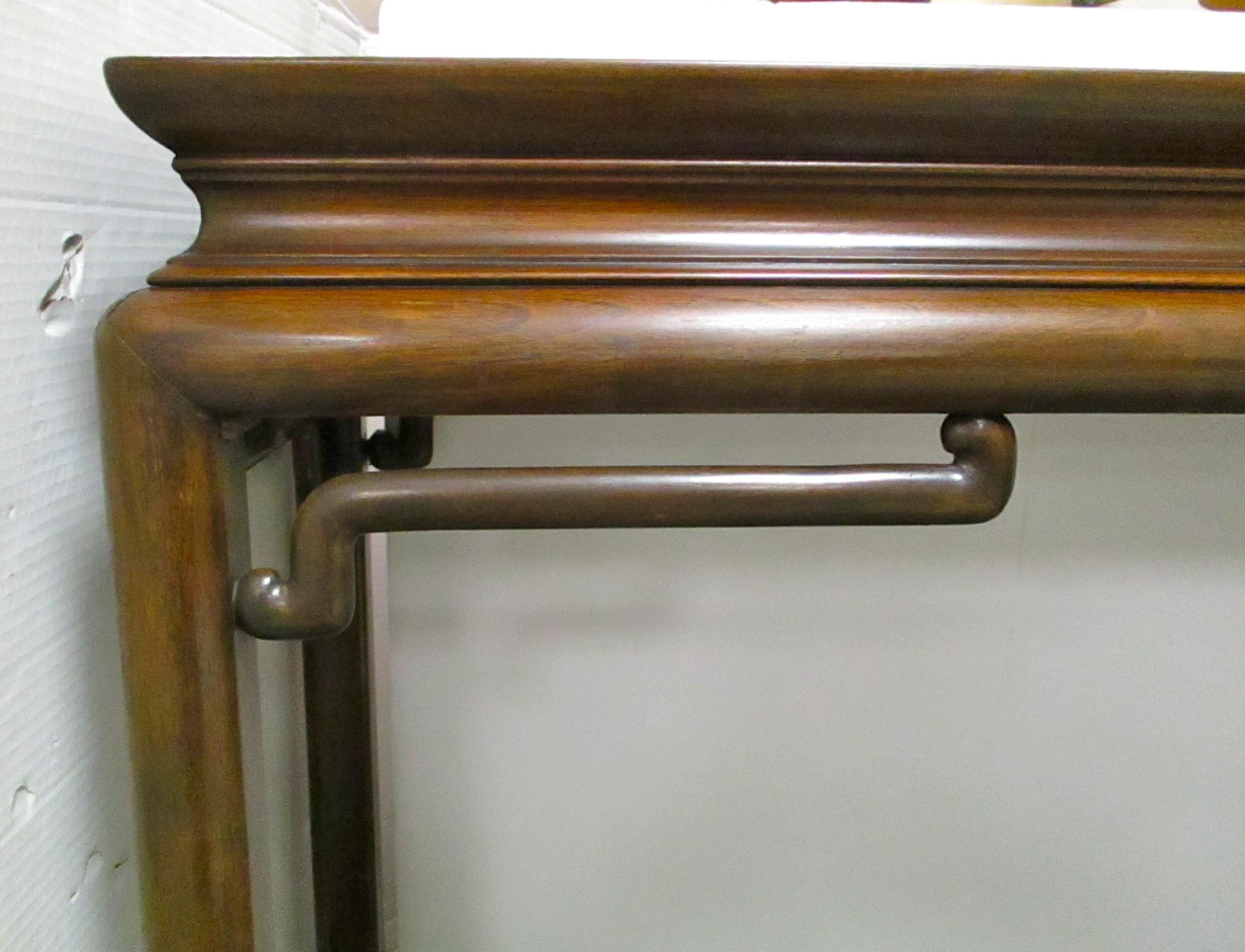 Baker Asian Style Console Table   Image 3 Of 6