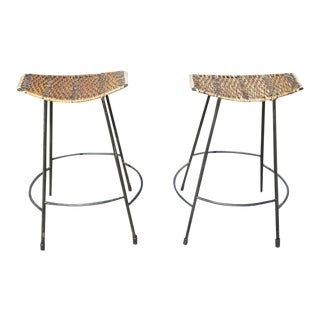 Arthur Umanoff Counter Stools- A Pair