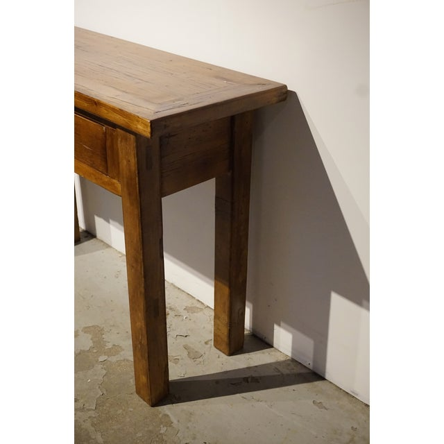 Solid Wood Hall Console Table - Image 4 of 6