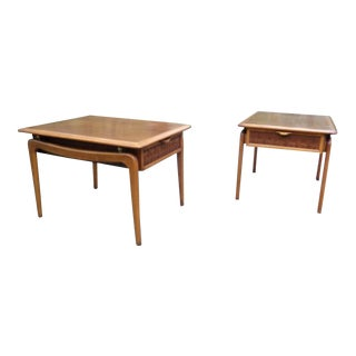 Lane Perception Mid Century End Tables By Warren Church - A Pair