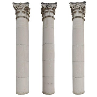 Monumental Column from the Chicago Merchantile Exchange Building