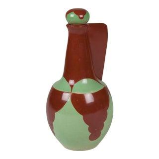 Rene Herbst Ceramic Lidded Decanter