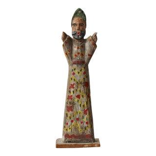 Guatemalan Standing Wood Figure