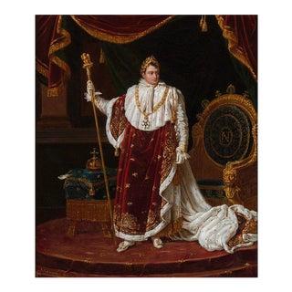 Emperor Napoléon I in Coronation Robes