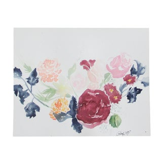 """""""Bouquet #2"""" Original Watercolor Painting"""