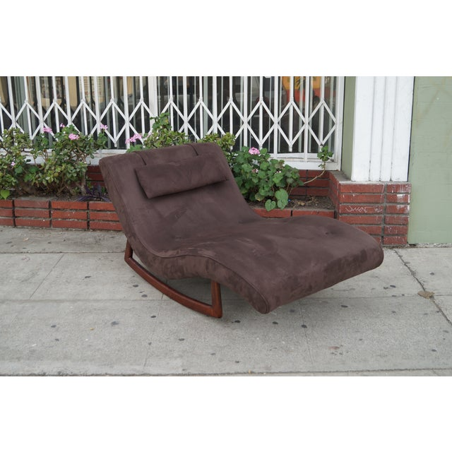 Vintage Rocking Lounge Chair by Adrian Pearsall - Image 2 of 6