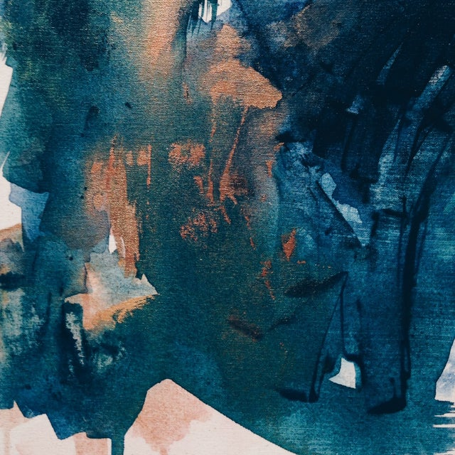 Dani Schafer Then We Woke Up Abstract Painting - Image 4 of 6