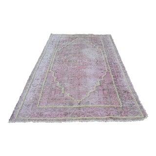 Turkish Wool Area Rug - 5′8″ × 9′5″