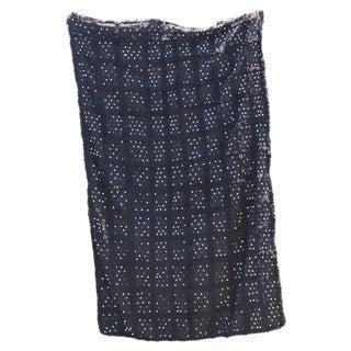 Black Moroccan Wedding Blanket
