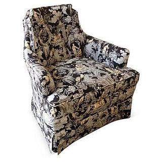 Toile Club Chair