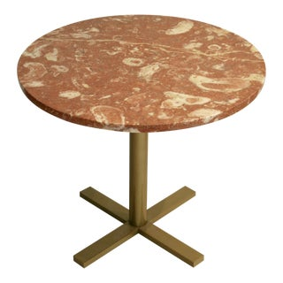 Nicos Zographos-Style Marble Table