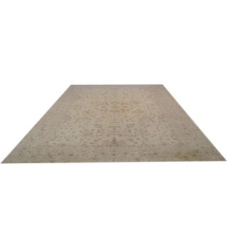 Traditional Hand-Knotted Rug - 12′5″ × 15′8″