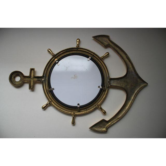 Image of Brass Anchor Mirror