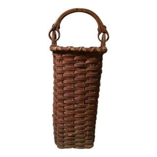 Basket with Swing Handle