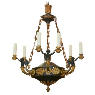 19th Century French Empire Chandlier