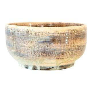 Mid Century Artisan-Crafted Ceramic Bowl