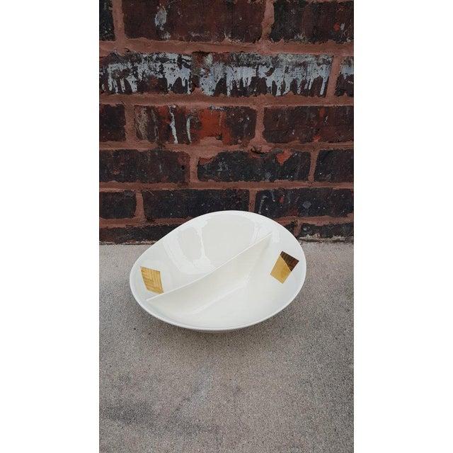 Image of 1950's George Briard Ceramic Serving Bowl