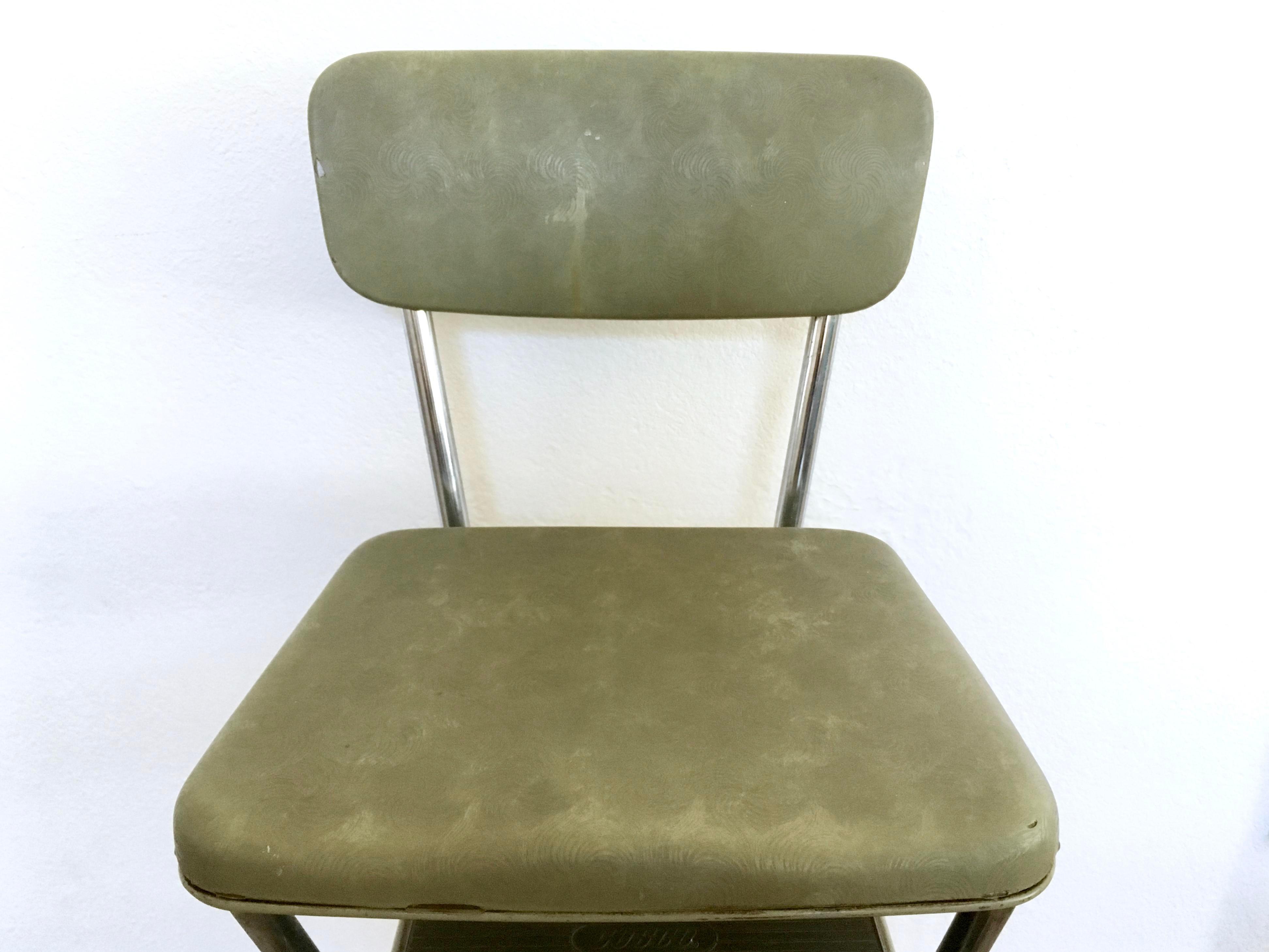 Mid Century Cosco Step Stool Chairish