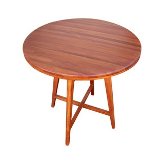 Solid Teak Bar Height Bistro Table