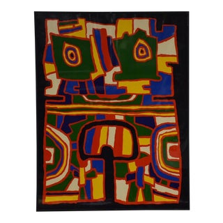 Jacques Soisson Abstract Serigraph