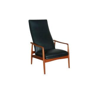 Danish Recliner Chair by Soren Ladefoged